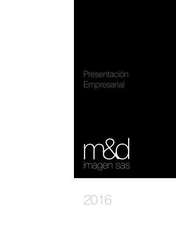 Presentacion M&D Imagen SAS