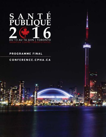 PROGRAMME FINAL CONFERENCE.CPHA.CA