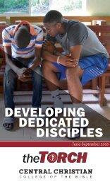 DEVELOPING DEDICATED DISCIPLES