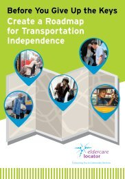 Create a Roadmap for Transportation Independence