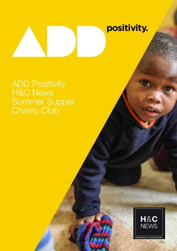 ADD Positivity H&C News Summer Supper Charity Club