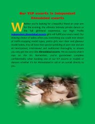 Our VIP models in independent Ahmedabad call girls services