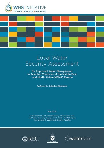 Local Water Security Assessment