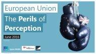 European Union The Perils of Perception