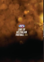 AUSTRALIAN FOOTBALL 2016