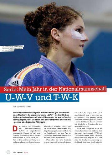 Judo-Magazin 05/2016