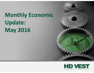 Monthly Economic Update May 2016