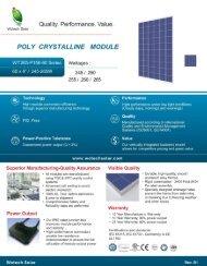 Polycrystalline 250w255w 260w