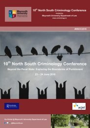 10 North South Criminology Conference
