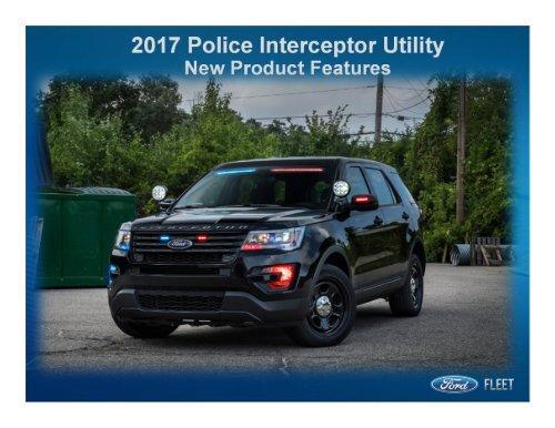 2017 Police Interceptor Utility