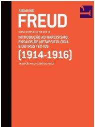 Obras completas de Freud - Cia das Letras - vol.12 - 1914-1916