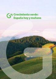 Crecimiento verde España hoy y mañana