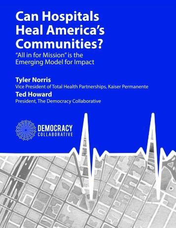 Can Hospitals Heal America's Communities?