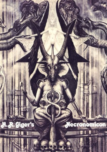 H.R. Giger Necronomicon - Hell Edition