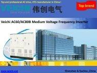 Wholesale Veichi Medium Voltage Drives