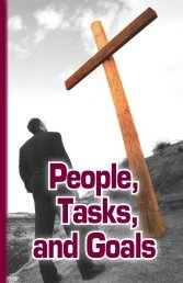 People, Tasks, and Goals