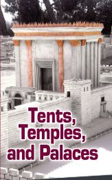 Tents, Temples, and Palaces