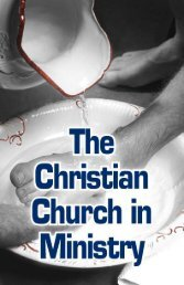The Christian Church in Ministry