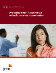 Organize your future with robotic process automation