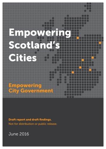 Empowering Scotland's Cities