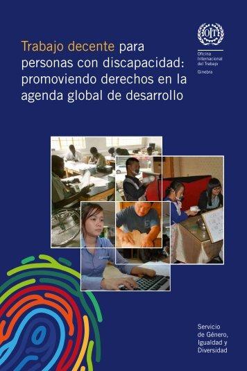 agenda global de desarrollo