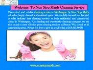 Regular Cleaning Maintenance Renton WA