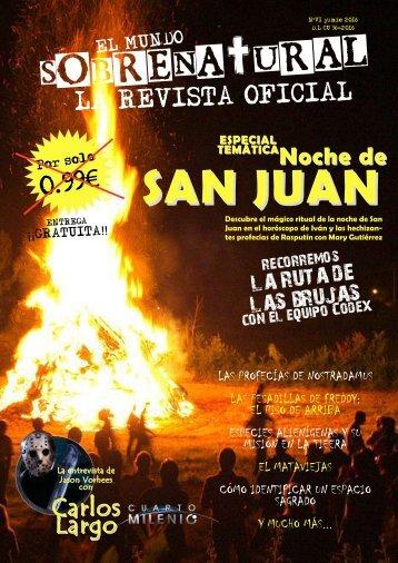 El Mundo Sobrenatural Junio 2016 - Especial Noche de San Juan