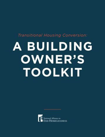 A Building Owner's Toolkit