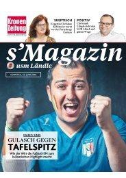 s'Magazin usm Ländle, 12. Juni 2016
