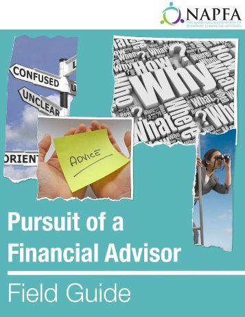 Pursuit of a Financial Advisor Field Guide