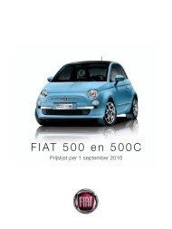 FIAT 500 en 500C