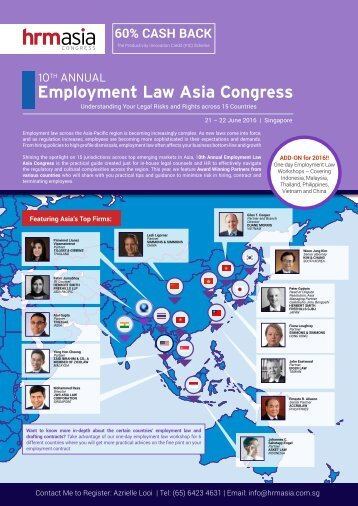 Employment Law Asia Congress