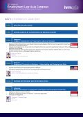 Employment Law Asia Congress - Page 3
