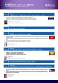 Employment Law Asia Congress - Page 4