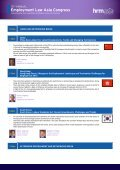 Employment Law Asia Congress - Page 7
