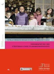 Stadt Köln: Bildungslandschaft Altstadt Nord - Dokumentation des ...
