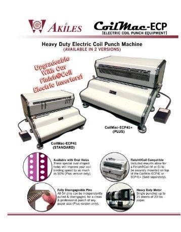CoilMac-ECP Akiles Coil Binding Machine by Printfinish.com