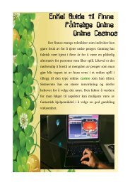 Enkel Guide til Finne Pålitelige Online Online Casinos