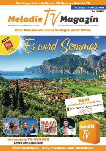 Melodie TV Magazin Juni/Juli 2016