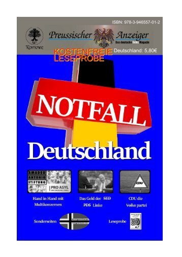 Notfall Deutschland - Die Leseprobe