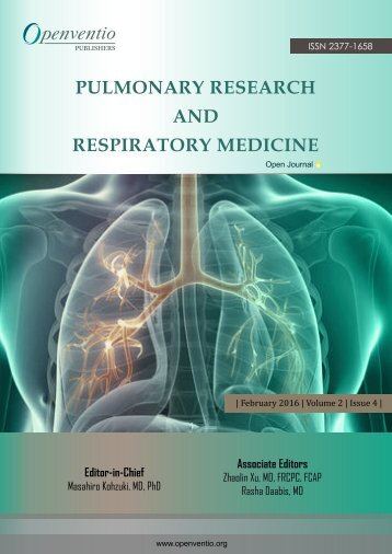 Pulmonary Research and Respiratory Medicine