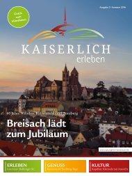 Kaiserlich Erleben, Ausgabe 2/2016
