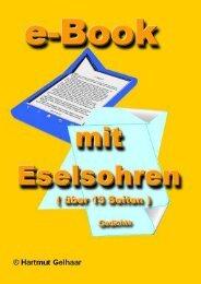 e-Book mit Eselsohren