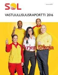 SOL Vastuullisuusraportti 2016
