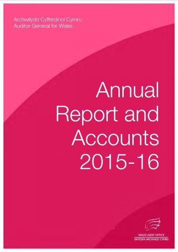 Annual Report and Accounts 2015-16