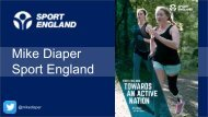 Mike Diaper Sport England