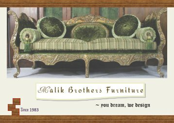 Malik Brothers Furniture- Catalog 2016