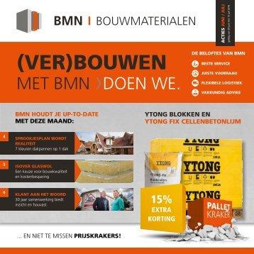 BMN krant - (ver)bouwen met bmn > doen we. Editie juni/juli 2016