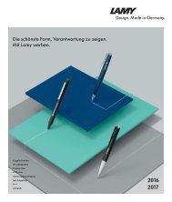 Lamy Schreibgeräte - mit der Weltmarke werben