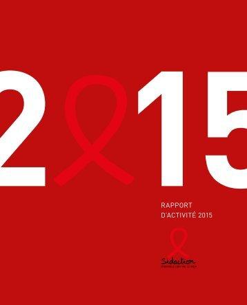 Sidaction - Rapport d'activité 2015